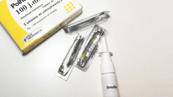 Donosowa insulina - Lek na Alzheimera - Leki nootropowe