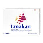 Nootropy w aptece - Ginkgo Biloba EGb 761 - IPSEN Tanakan