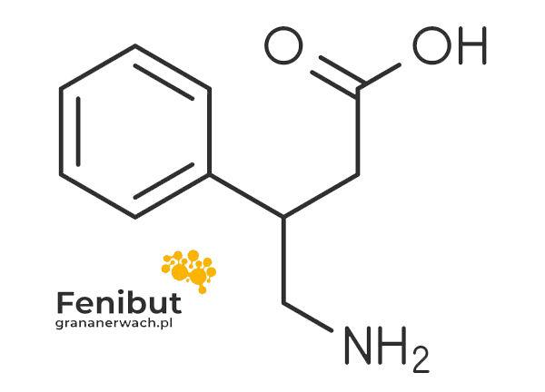 struktura chemiczna fenibutu