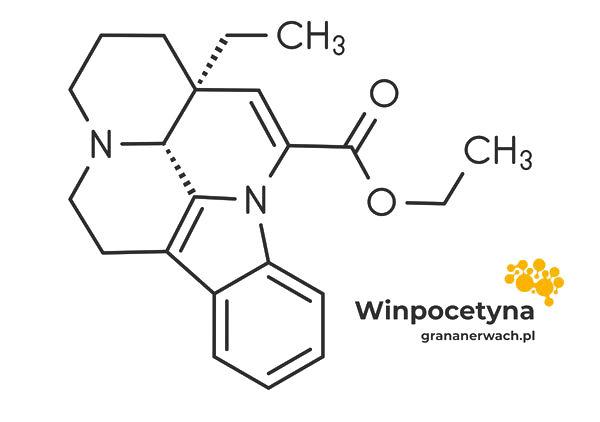 struktura chemiczna winpocetyny