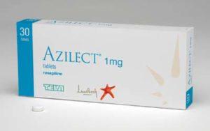 TEVA Azilect - lek / preparat z rasagiliną
