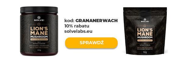 ekstrakt soplówki jeżowatej solve labs
