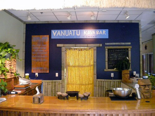 Vanuatu Kava Bar w USA