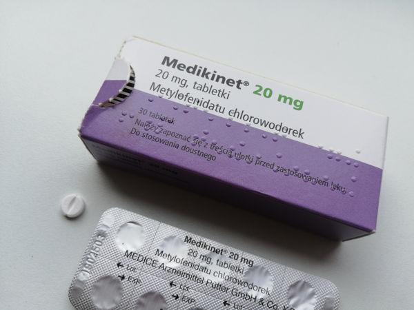Medikinet 20 mg - lek na ADHD